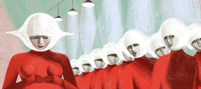 Handmaids Tale Illustration